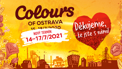 19th edition of Colours of Ostrava is postponed to July 14 - 17, 2021
