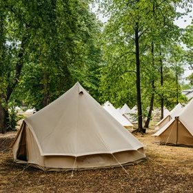 Luxury tents in Chill Village - on sale!