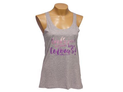 Women's tank top Girls just wanna have Colours image