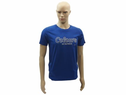 Men's T-Shirt Colours NEON, blue, size S image