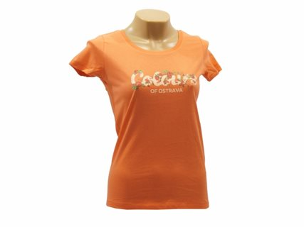 Women's T-Shirt Colours and flowers image
